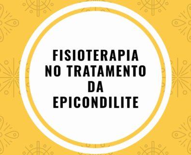 Epicondilite: Fisioterapia como Tratamento